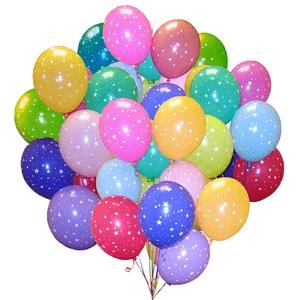 Цветные шары с гелием